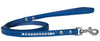 Doggy Stylz Dog-products New Blue / 6' Long Clear Jewel Croc Leash 1/2'' Wide X Long