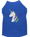 Doggy Stylz Dog-products Unicorns! Blue / EXTRA LARGE Unicorns Rock Embroidered Dog Shirt Aqua