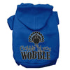 Doggy Stylz Dog-products New Blue / Extra Small Gobble Til You Wobble Screen Print Dog Hoodie