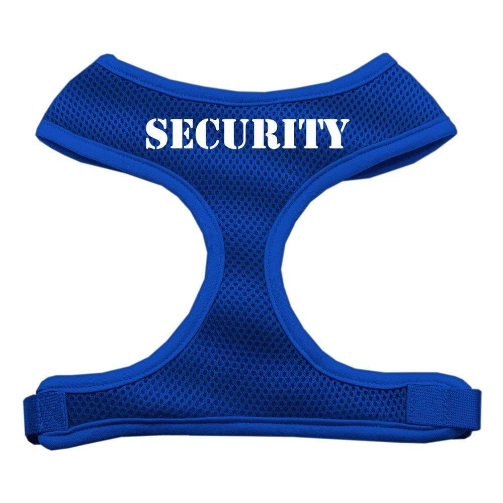 Doggy Stylz Dog-products Pet Harnesses Blue / Small Security Design Soft Mesh Harnesses