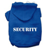 Doggy Stylz Dog-products Pet Apparel Blue / XXXL Security Screen Print Pet Hoodies Size Size