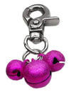 Doggy Stylz Dog-products Pet Charms Bright Pink Lobster Claw Bell Charm