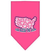 Doggy Stylz Dog-products Dog Bandanas Bright Pink / Large God Bless Usa Screen Print Bandana