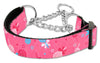Doggy Stylz Dog-products New Pet Products Bright Pink / Large Lollipops Nylon Ribbon Collar Martingale