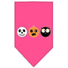Doggy Stylz Dog-products New! Bright Pink / Large The Spook Trio Screen Print Bandana
