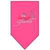 Doggy Stylz Dog-products New! Bright Pink / Small Tis The Season To Sparkle Rhinestone Bandana