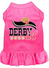 Doggy Stylz Dog-products New Bright Pink / XXL Derby Doll Screen Print Dog Dress