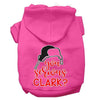 Doggy Stylz Dog-products New Bright Pink / XXL You Serious Clark? Screen Print Dog Hoodie