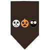 Doggy Stylz Dog-products New! Brown / Small The Spook Trio Screen Print Bandana