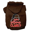 Doggy Stylz Dog-products New Brown / XXL You Serious Clark? Screen Print Dog Hoodie