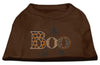 Doggy Stylz Dog-products New Pet Products Brown / XXXL Boo Rhinestone Dog Shirt