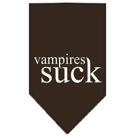 Vampires Suck Screen Print Bandana - Doggy Stylz