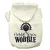 Doggy Stylz Dog-products New Cream / XXL Gobble Til You Wobble Screen Print Dog Hoodie