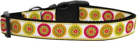 Doggy Stylz Dog-products Collars Autumn Daisies Nylon Cat Collar