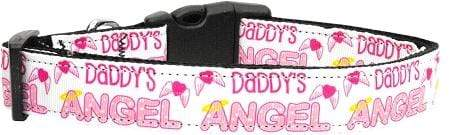 Doggy Stylz Dog-products Collars Daddy's Angel Nylon Cat Collar
