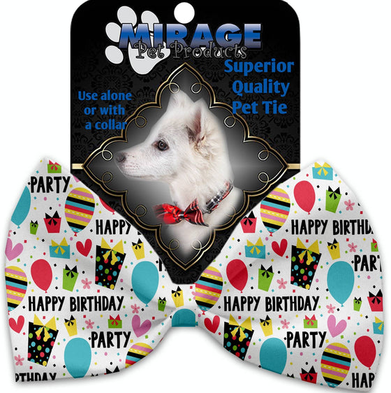 Doggy Stylz Dog-products Grooming Happy Birthday Pet Bow Tie Collar Accessory With Velcro