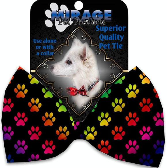 Doggy Stylz Dog-products Grooming Rainbow Paws Pet Bow Tie
