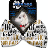 Doggy Stylz Dog-products Grooming Santa Sayings Pet Bow Tie Accessory With Velcro