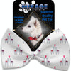 Doggy Stylz Dog-products New Llama Love Pet Bow Tie Accessory With Velcro