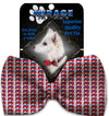 Doggy Stylz Dog-products New Republican Pet Bow Tie Accessory With Velcro