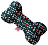 Doggy Stylz Dog-products New Snowflakes And Canvas Bone Dog Toy