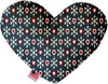 Doggy Stylz Dog-products New Snowflakes And Canvas Heart Dog Toy