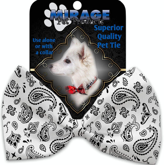 Doggy Stylz Dog-products New White Western Pet Bow Tie