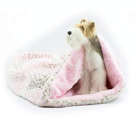 Doggy Stylz Dog-products Pink Lynx with Puppy Pink Curley Sue Cuddle Cup