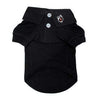 Doggy Stylz Dog-products Solid Dog Polo - Jet Black