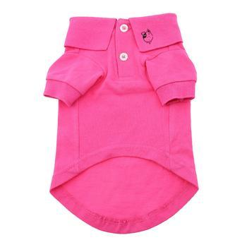 Doggy Stylz Dog-products Solid Dog Polo - Raspberry Sorbet