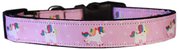 Doggy Stylz Dog-products Unicorns! Mauve Unicorns Nylon Cat Safety Collar