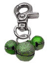Doggy Stylz Dog-products Pet Charms Emerald Green Lobster Claw Bell Charm