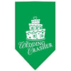 Doggy Stylz Dog-products Dog Bandanas Emerald Green / Large Wedding Crasher Screen Print Bandana