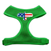 Doggy Stylz Dog-products New Pet Products Emerald Green / Large Eagle Flag Screen Print Soft Mesh Harness