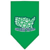 Doggy Stylz Dog-products Dog Bandanas Emerald Green / Small God Bless Usa Screen Print Bandana