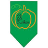 Doggy Stylz Dog-products New Pet Products Emerald Green / Small Lil Punkin Screen Print Bandana
