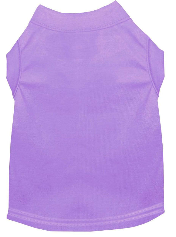 Doggy Stylz Dog-products Apparel Extra Large Plain Pet Shirts Lavender
