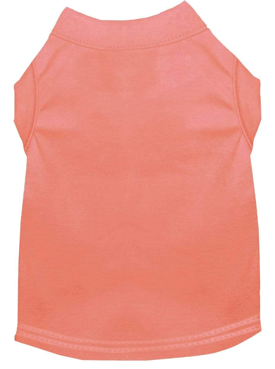Doggy Stylz Dog-products Apparel Extra Large Plain Pet Shirts Peach