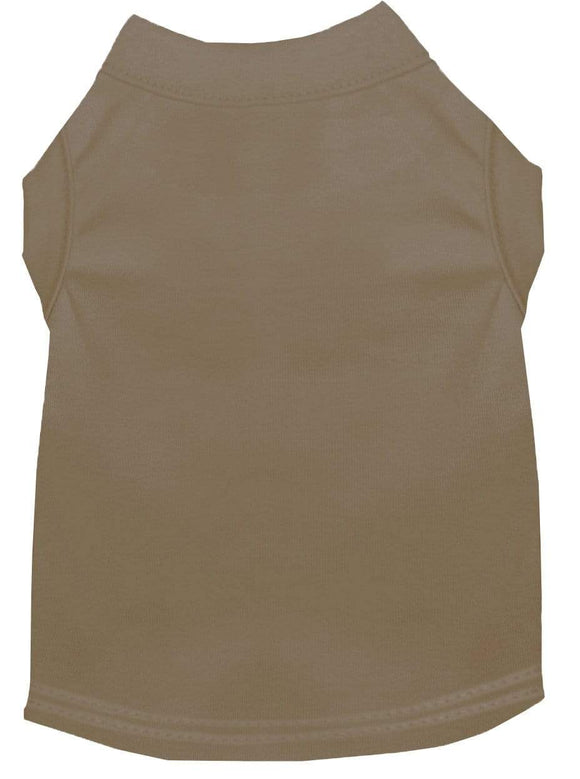 Doggy Stylz Dog-products Apparel Extra Large Plain Pet Shirts Tan