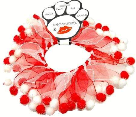 Doggy Stylz Dog-products Holiday Pet Products Extra large Candy Cane Fuzzy Wuzzy Smoocher.