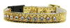 Doggy Stylz Dog-products New Gold / 10 Breakaway Cat Collar