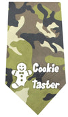 Doggy Stylz Dog-products New Pet Products Green Cookie Taster Screen Print Bandana