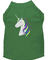 Doggy Stylz Dog-products Unicorns! Green / XXXL Unicorns Rock Embroidered Dog Shirt Aqua