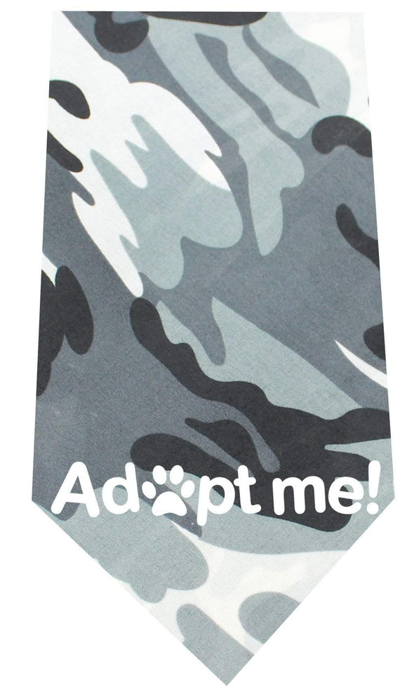 Doggy Stylz Dog-products New Pet Products Green Adopt Me Screen Print Bandana