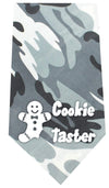 Doggy Stylz Dog-products New Pet Products Grey Cookie Taster Screen Print Bandana