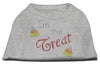 Doggy Stylz Dog-products New Pet Products Grey / Extra Small I'm The Treat Rhinestone Dog Shirt