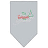 Doggy Stylz Dog-products New! Grey / Small Tis The Season To Sparkle Rhinestone Bandana