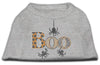 Doggy Stylz Dog-products New Pet Products Grey / XXXL Boo Rhinestone Dog Shirt