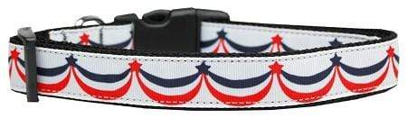Doggy Stylz Dog-products New Pet Products Large American Swag Nylon Dog Collar