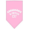 Doggy Stylz Dog-products Dog Bandanas Light Pink / Large Aberdoggie Ny Screen Print Bandana